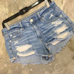 American Eagle Outfitters Shorts - American Eagle Distressed Denim Shorts